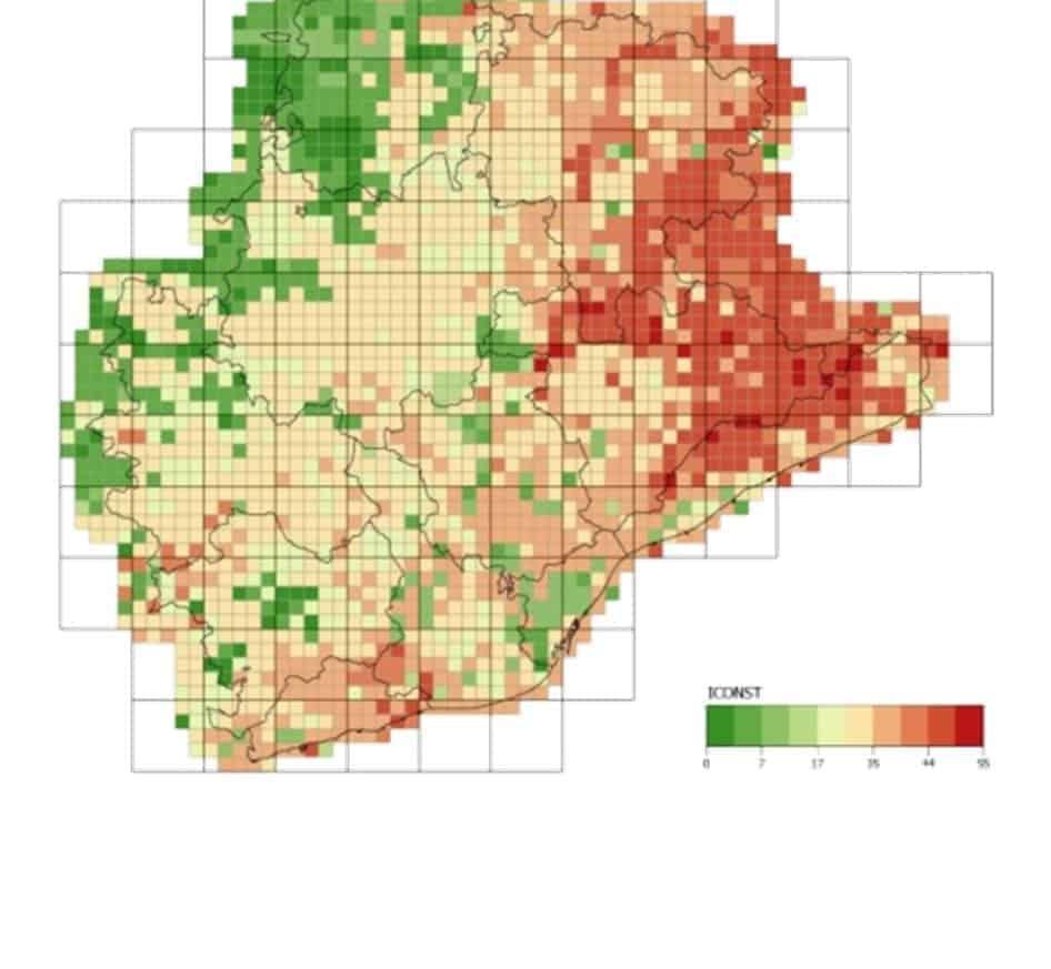 Desenvolupament del mòdul de fauna i connectivitat del Sistema d'Informació Territorial de la xarxa d'espais lliures de la província de Barcelona (SITxell)