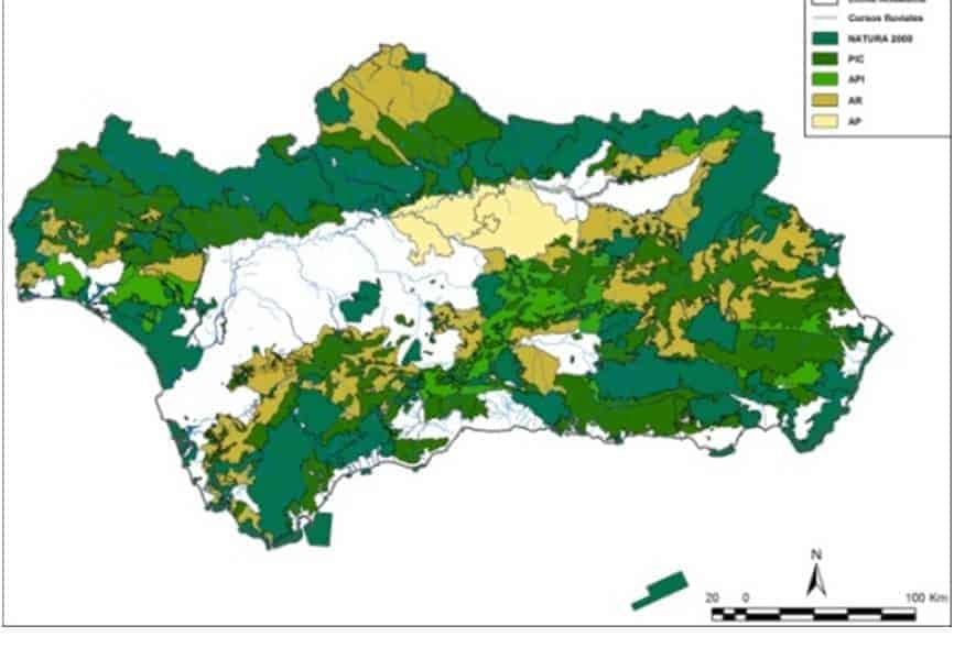 Redacció del Pla de millora de la connectivitat ecològica a Andalusia en el marc dels plans de gestió d'espècies i hàbitats amenaçats.